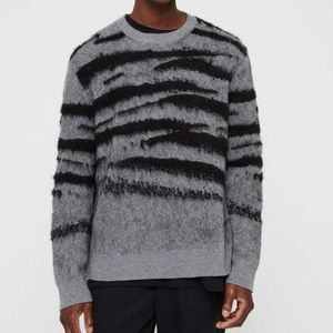 All Saints Ture Crew Wool Sweater